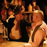 Bill Sykes in bar brawl from 'Oliver'