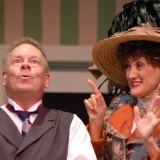 Horace Vandergelde in the opening scene of the 2013 Naples Players Production of 'Hello Dolly