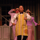 Horace Vandergelde in the finale of the 2013 Naples Players Production of 'Hello Dolly'